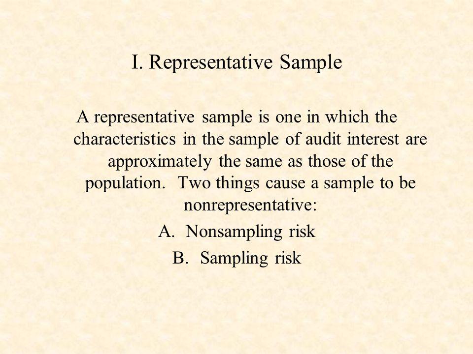 Presentation Outline Representative Sample - ppt download