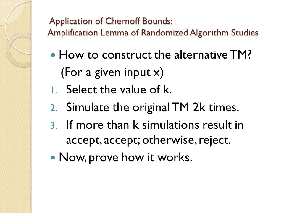 How to construct the alternative TM (For a given input x)