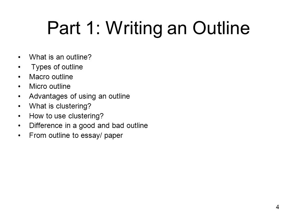 basic outline essay writing For an example schedule, see 'how to plan time for essay writing' outline begins with thesis and uses standard format this is the most basic essay outline.
