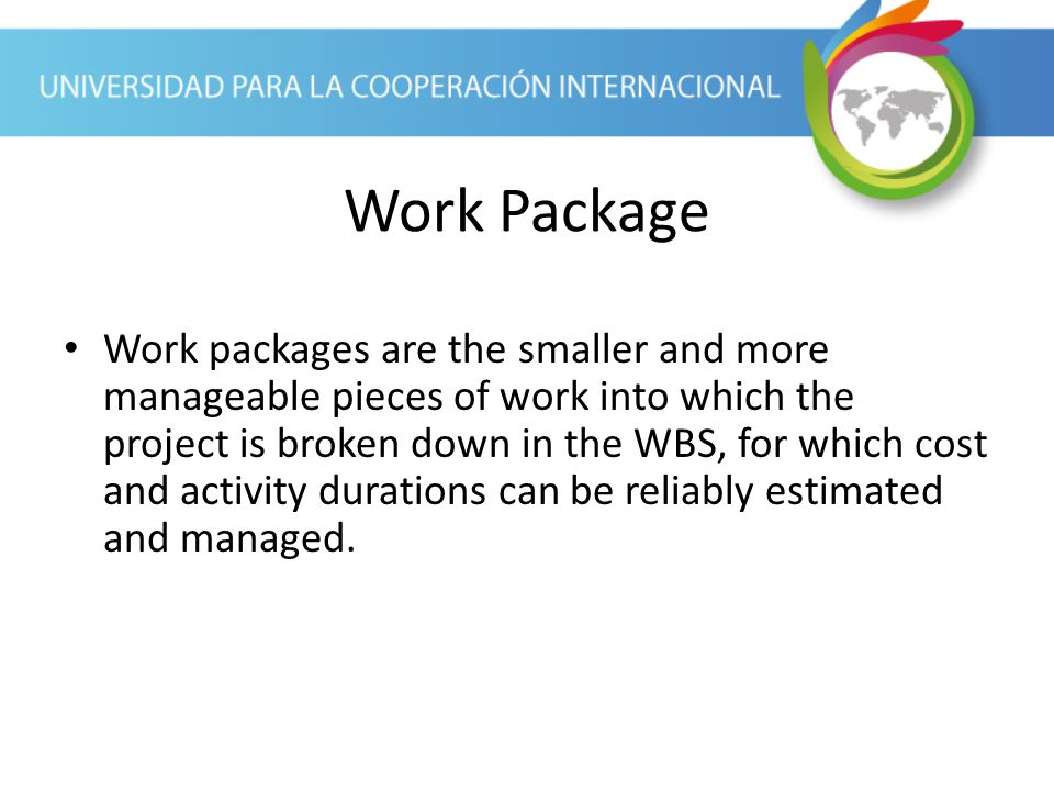 Work Package