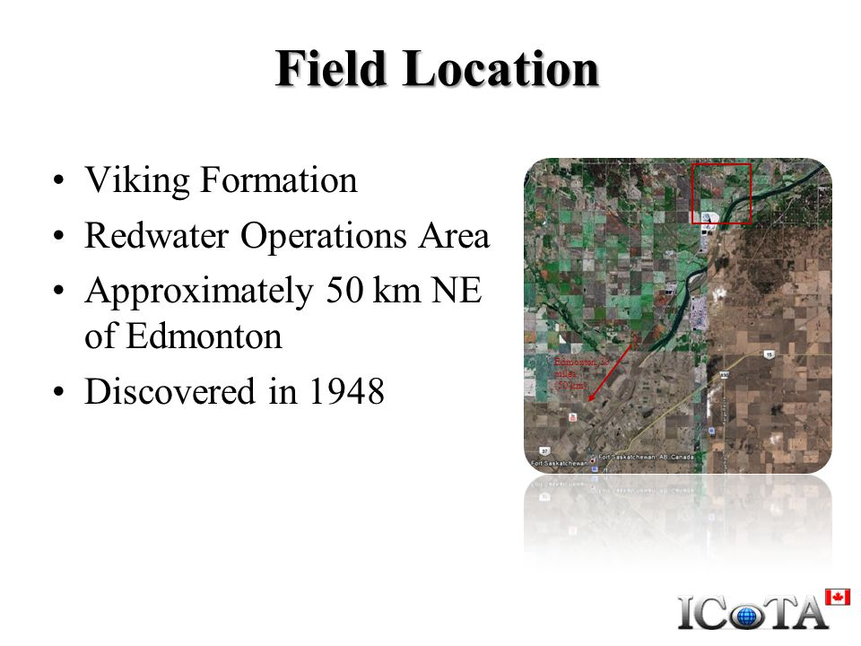 Field Location Viking Formation Redwater Operations Area