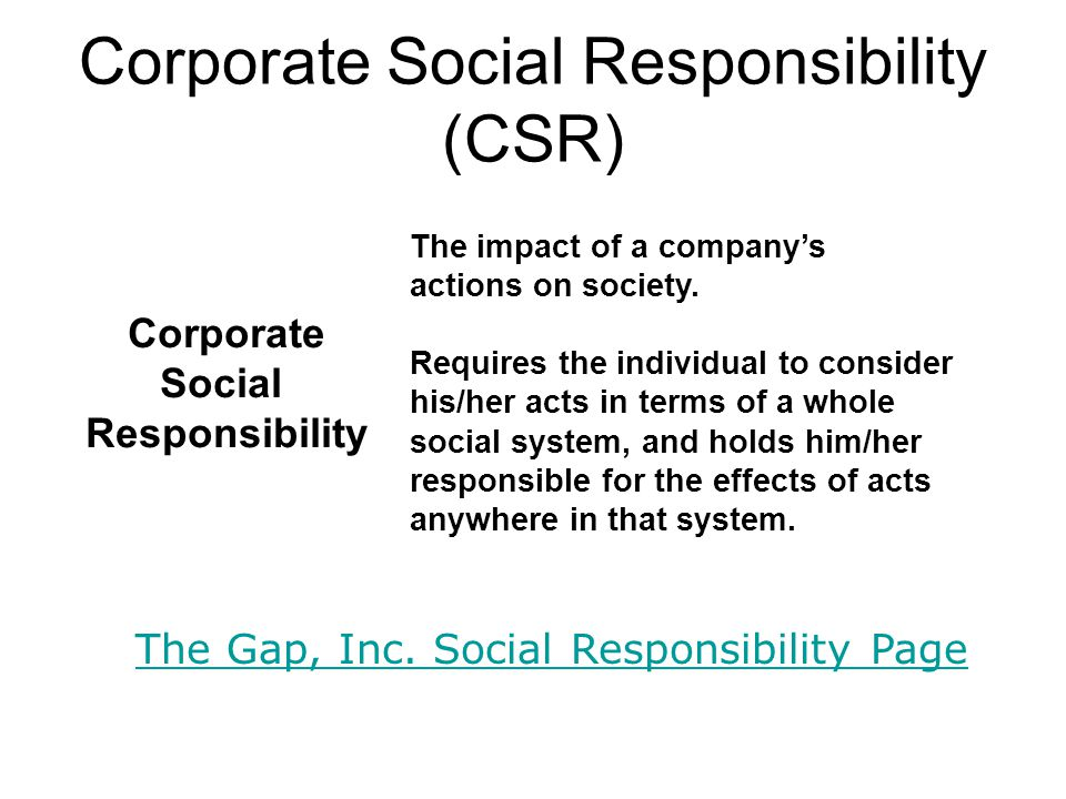 the effect of corporate social responsibility Research from the journal of marketing explores if and when corporate social responsibility impacts the job performance of customer-facing employees.