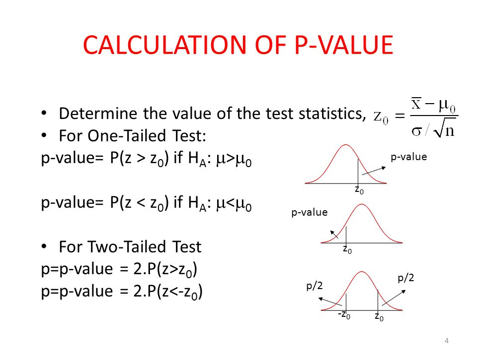 what is p value in statistics pdf