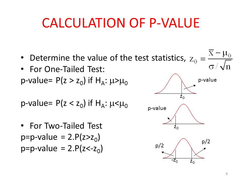 what is p value in statistics pdf