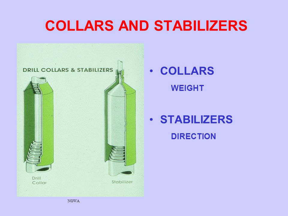 COLLARS AND STABILIZERS