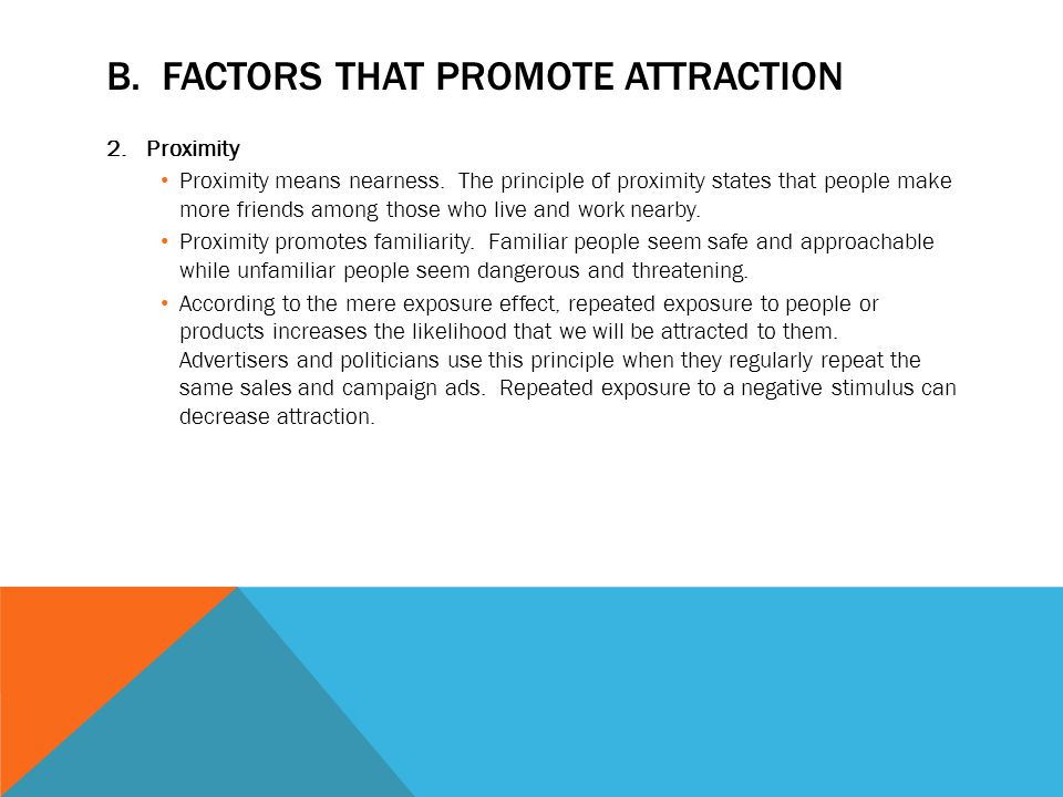 factors of attractiveness essay Unlike most editing & proofreading services, we edit for everything: grammar, spelling, punctuation, idea flow, sentence structure, & more get started now.