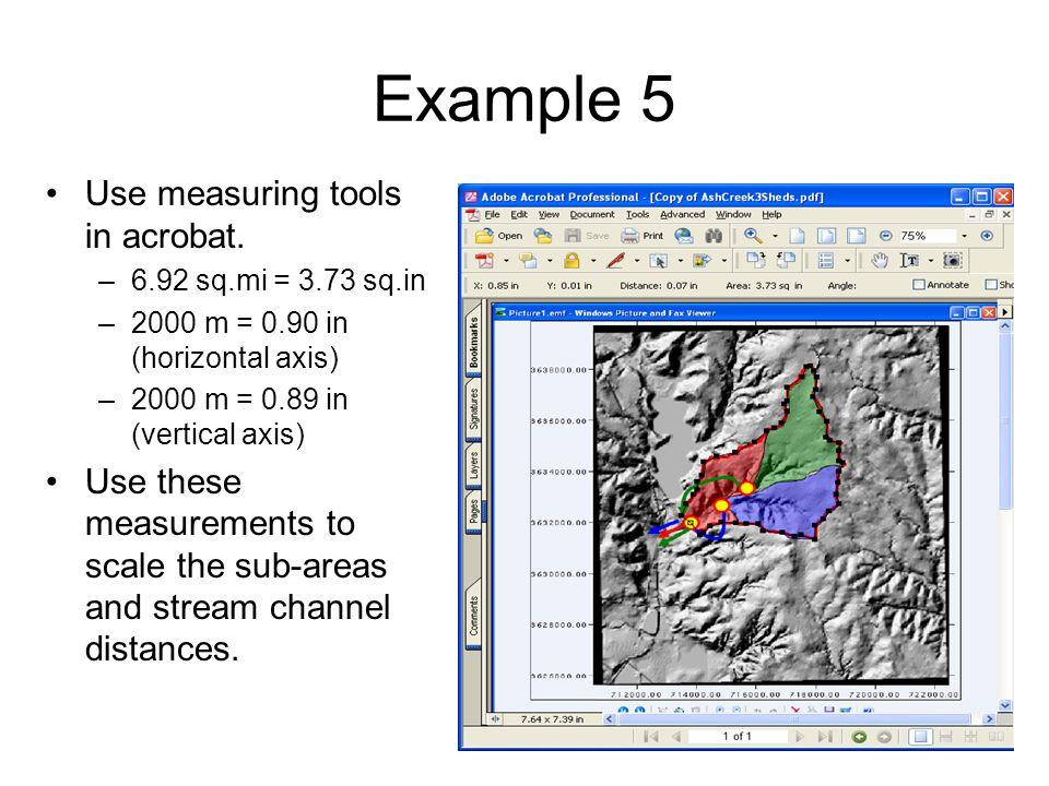 Examples Of Measurement Instruments : Hec hms simulation multiple sub basins ppt video online