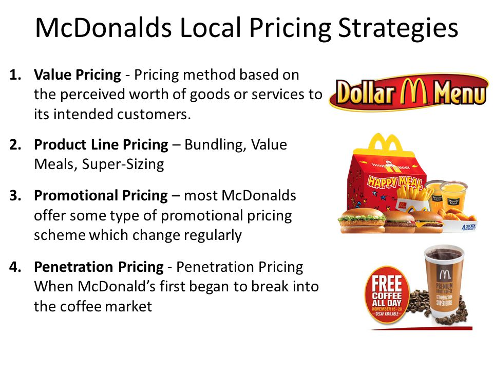 4 strategies for McDonald's management - MarketWatch