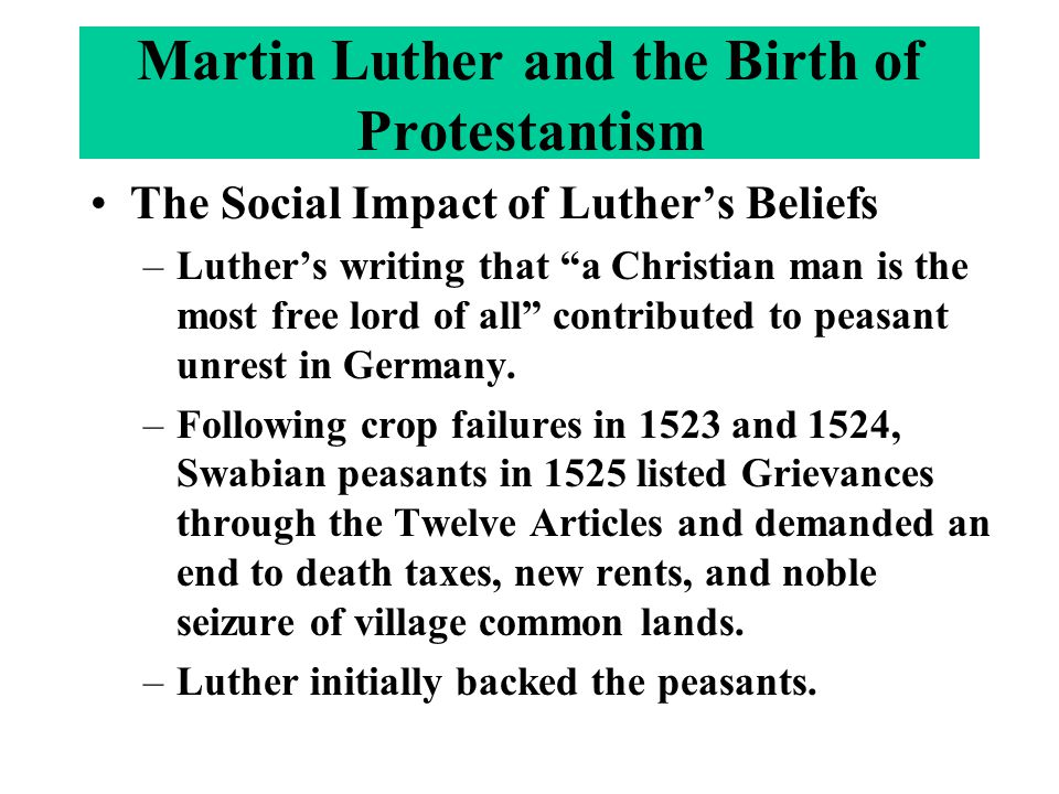 lutheranism and its impact on germanic Volume 8, number 2  in particular, the impact of lutheranism  toms of the germanic peoples of postclassical europe and works forward to.