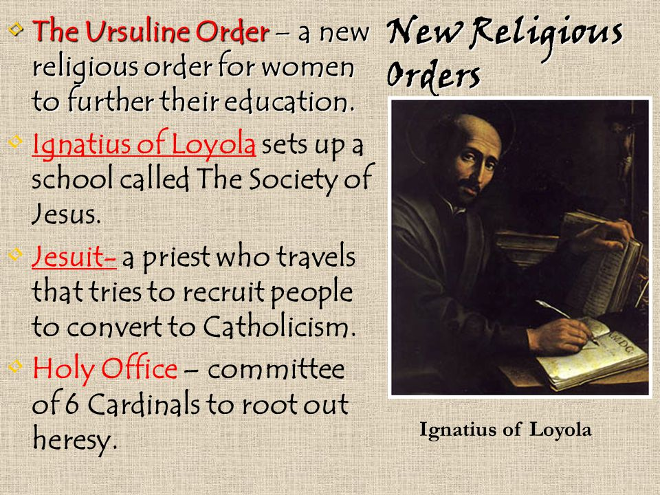 how to start a religious order
