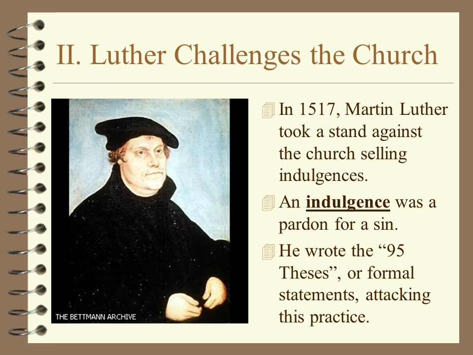 martin luther and john calvin against the roman catholic church Calvin, the church fathers, and the roman  entirely upon the judgment of the church (this view, asserted by john  a roman catholic martin luther.