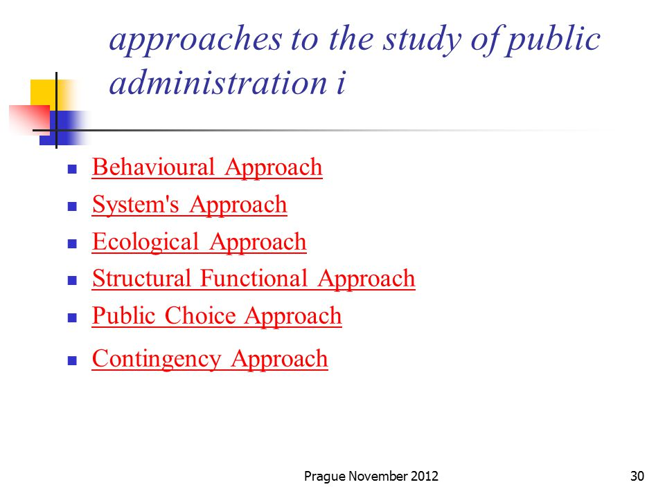 (PDF) Managerial Approach to Public Administration