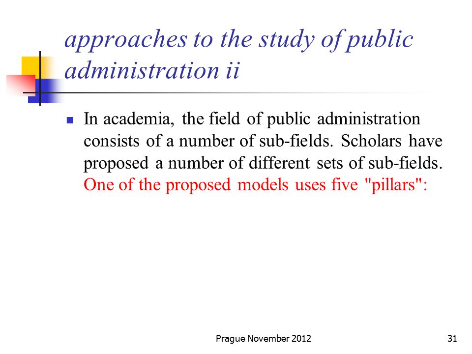 Approaches to the Study of Public Administration | Public ...