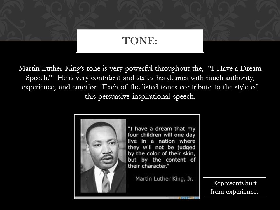 a rhetorical analysis of i have a dream a speech against segregation by martin luther king junior I have a dream / letter from birmingham jail has a great tool for literary and rhetorical analysis martin luther king's i have a dream speech and his.