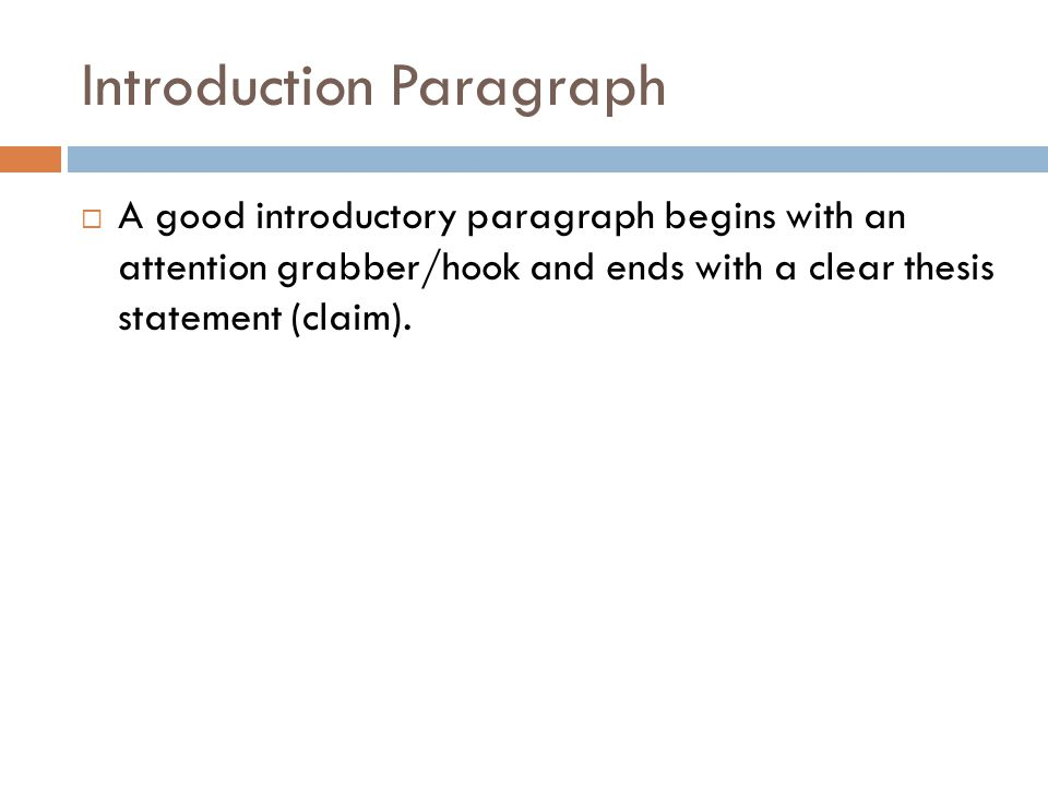 how to write a grabber sentence for an essay