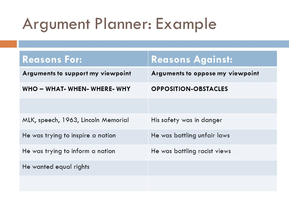 argument essay requirements ppt video online  9 argument planner example