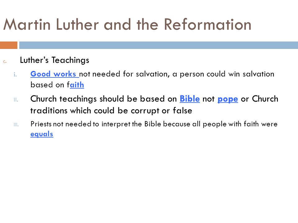 martin luther and the reformation pdf
