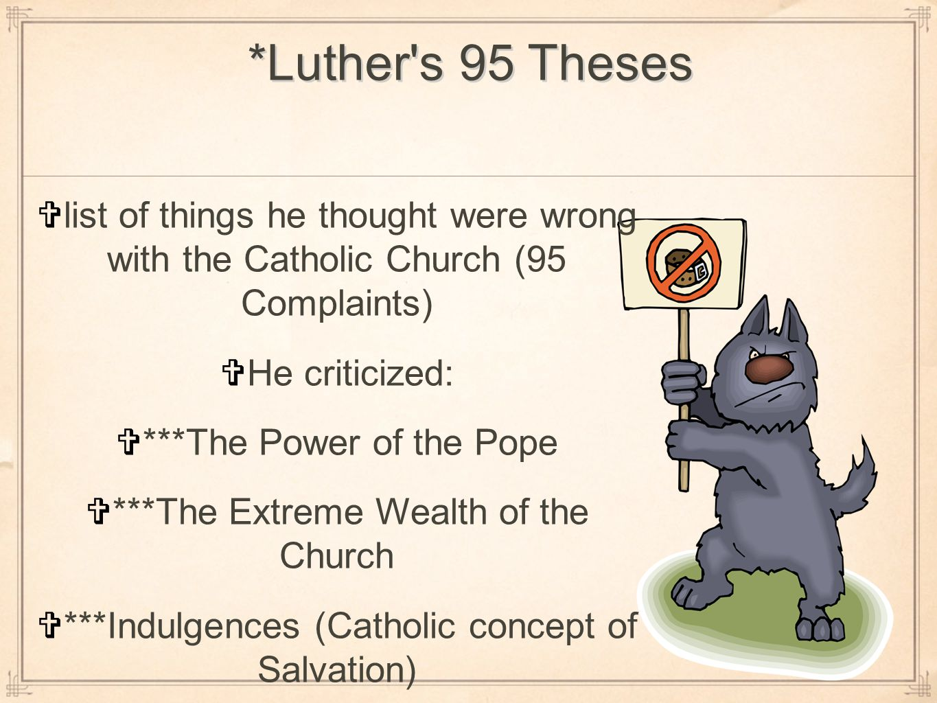 what was the impact of luthers 95 theses Major exhibition celebrates 500th anniversary of martin luther's 95 theses   the united states to examine luther's personal life and explore the impact of the   when luther posted his ninety-five theses on the power and.