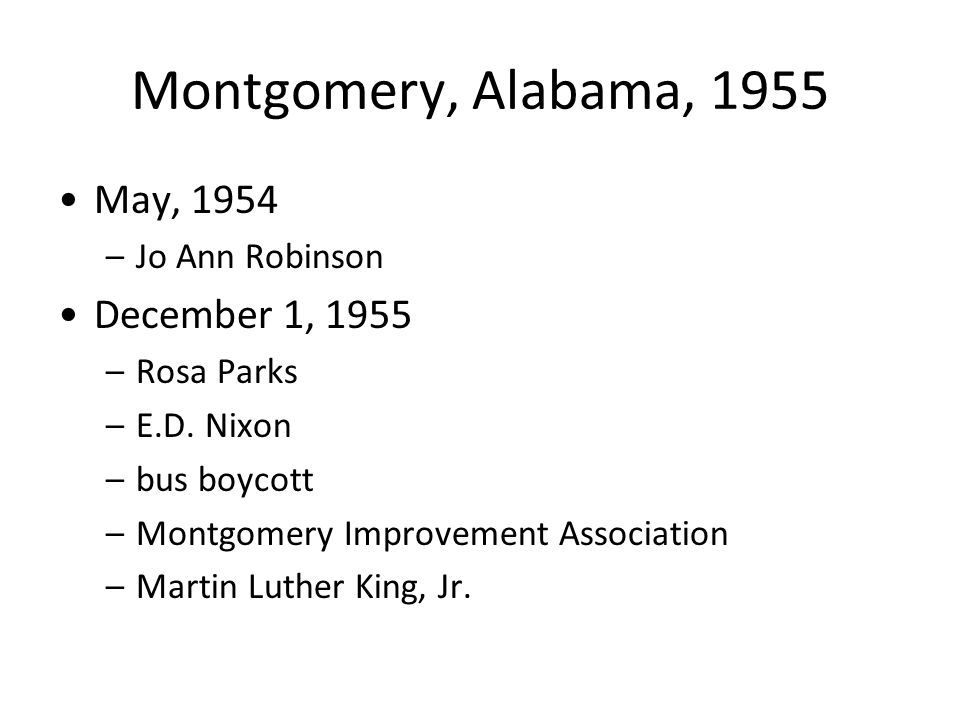 an account of the rosa park boycott in december 1 1955 On dec 1, 1955, rosa parks was december 1, 1955 montgomery fair date book with rosa parks' notes concerning the montgomery bus boycott, 1955–1956 rosa.
