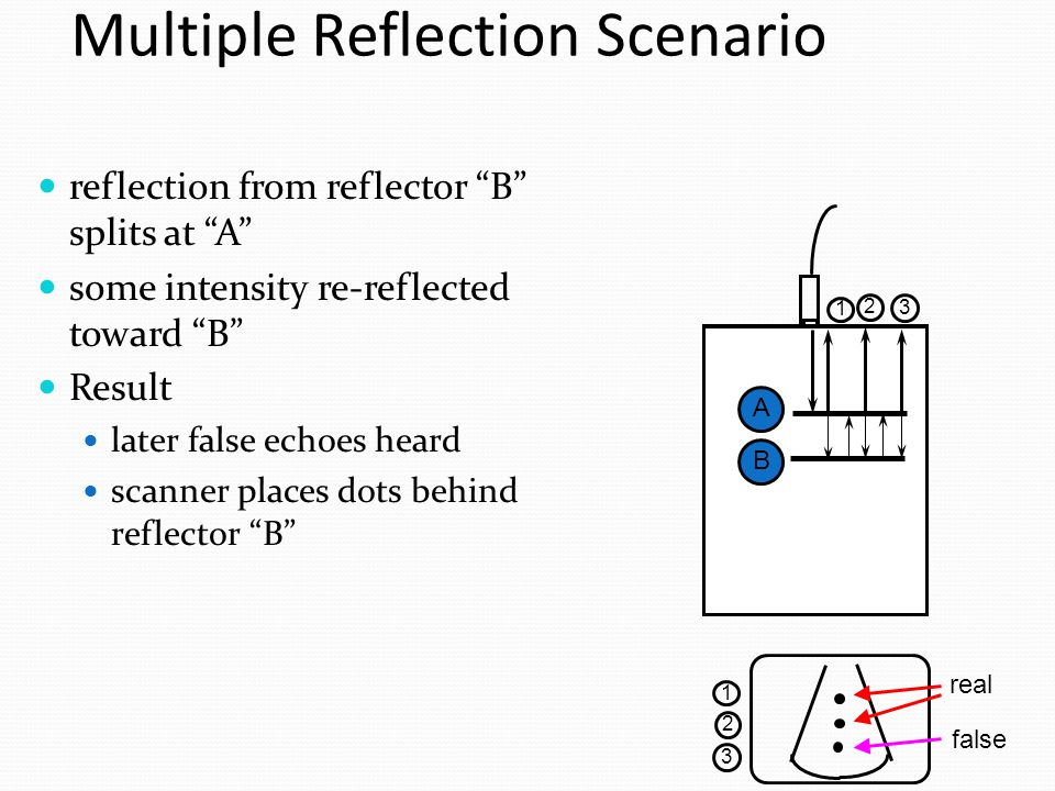 Reflection of scenario