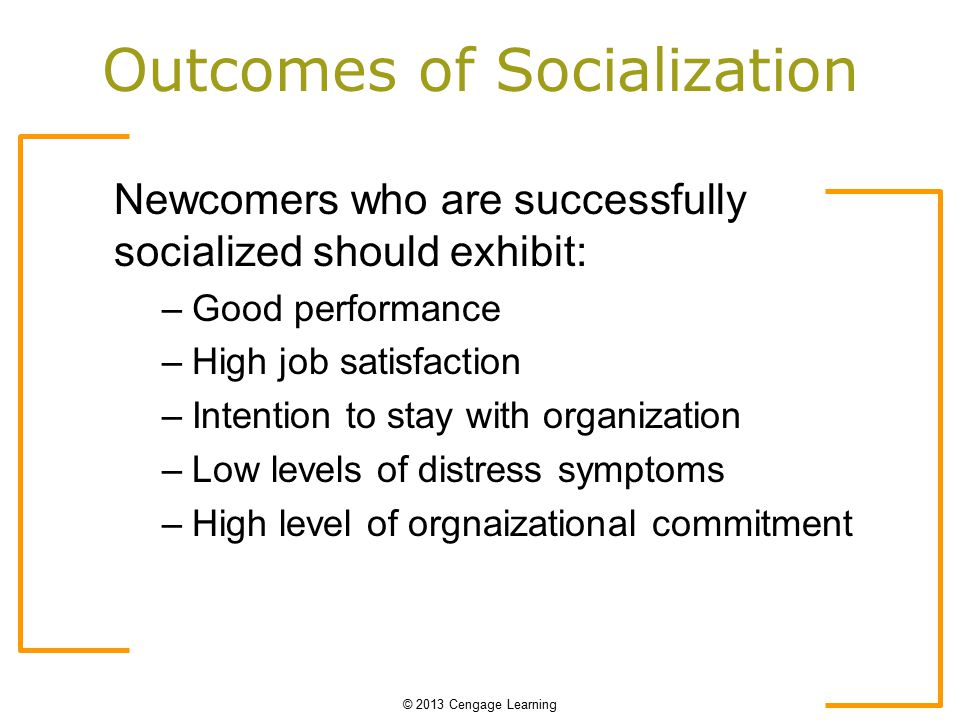 stages of organizational socialization