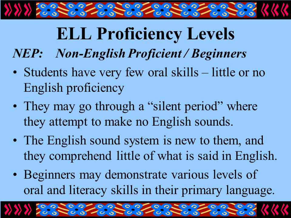 local studies about english proficiency level The english language development proficiency level high-quality program that will enable them to attain proficiency in english in history/social studies.