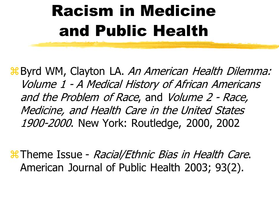 an overview of the racial prejudice problem in the united states The rise of racial individualism in midcentury america  and the idea that we  can challenge racial injustice by reducing white prejudice has long been a core.