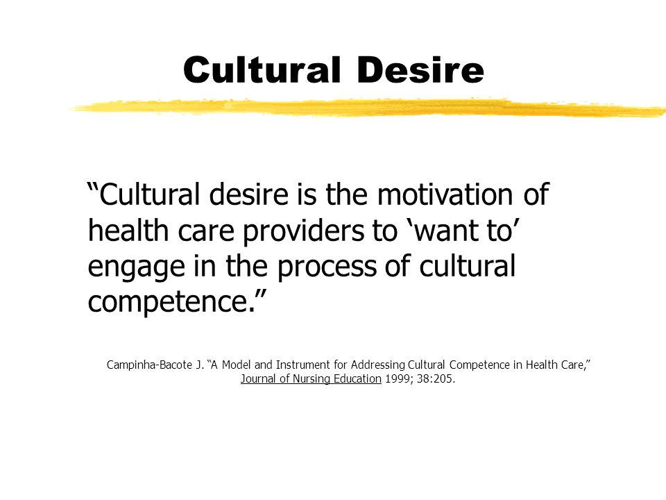 campinha bacote model of cultural competency The author reviewed cultural competence models and cultural competence model for example, campinha-bacote cultural competence assessment instruments in.