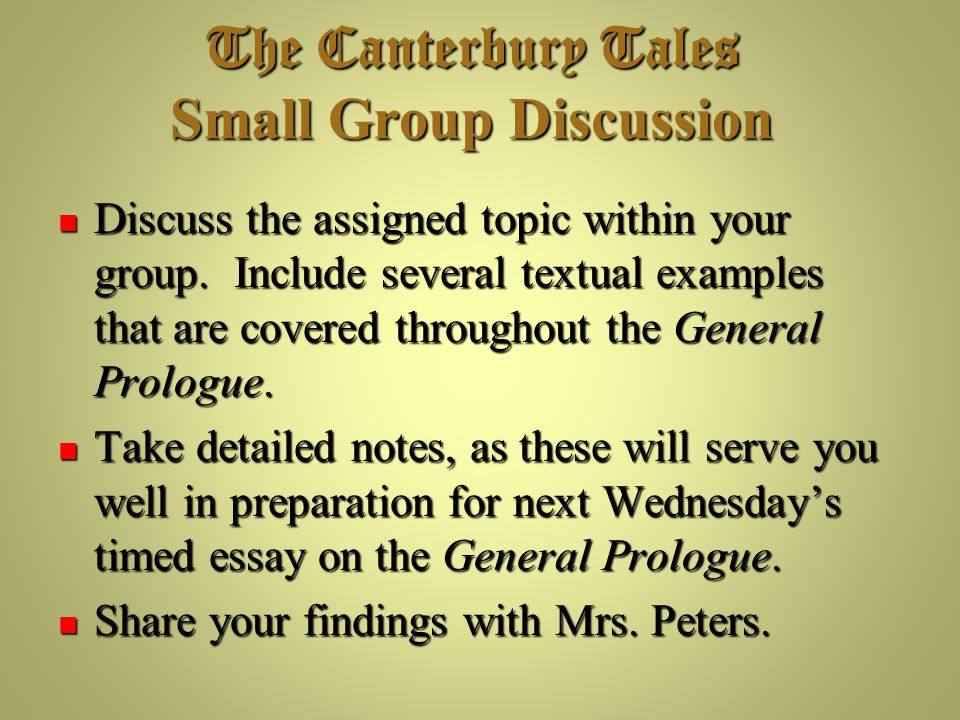 Essay For My Mother  Prologue To The Canterbury Tales Essays Read And Download Geoffrey  Chaucer The General Prologue To The  Sample 500 Word Essay also Mitosis Essay Prologue To The Canterbury Tales Essays Custom Paper Help  Cloud Computing Essays
