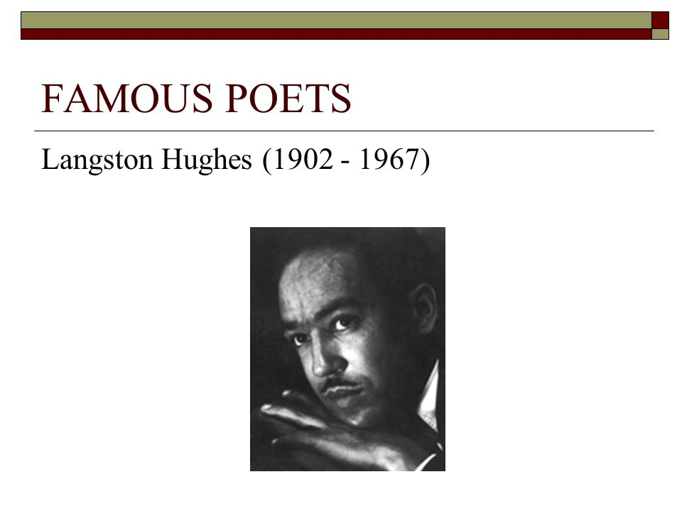 a biography of james langston hughes News about langston hughes commentary and archival information about langston hughes from the new york times.