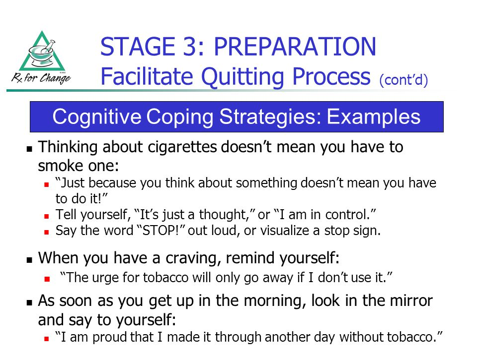 Assisting patients with quitting a transtheoretical model approach stage 3 preparation facilitate quitting process contd solutioingenieria Images