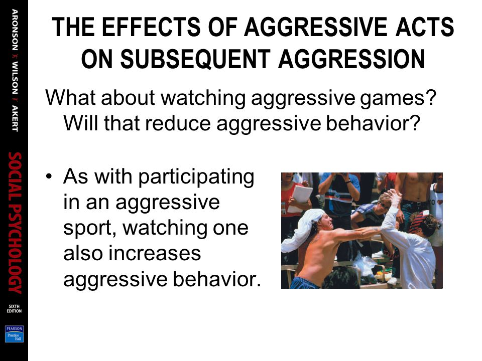 psychoanalysis of aggressive behavior Behavior analysis the area of psychology that focuses on the environmental determinants of learning and less aggressive, less hostile pattern of behavior and emotion.
