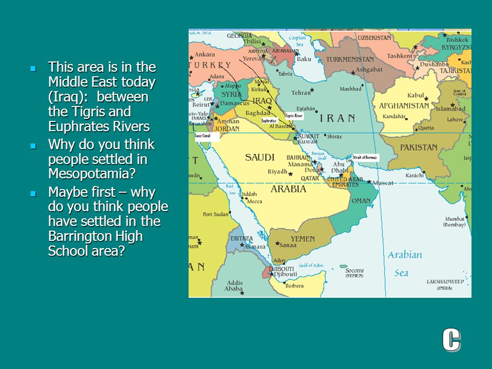 List of Synonyms and Antonyms of the Word: mesopotamia today