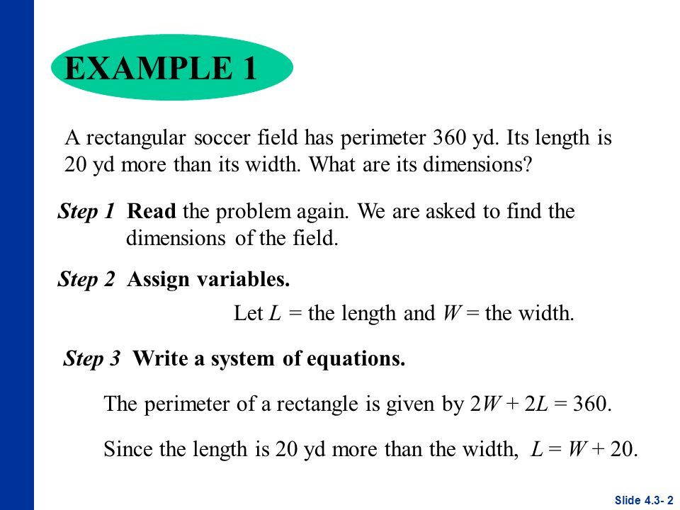 Applications Of Systems Of Linear Equations Ppt Video Online Download
