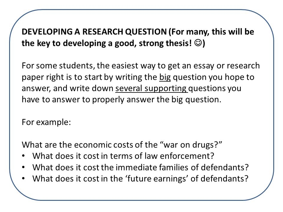 100 what is a research thesis research paper