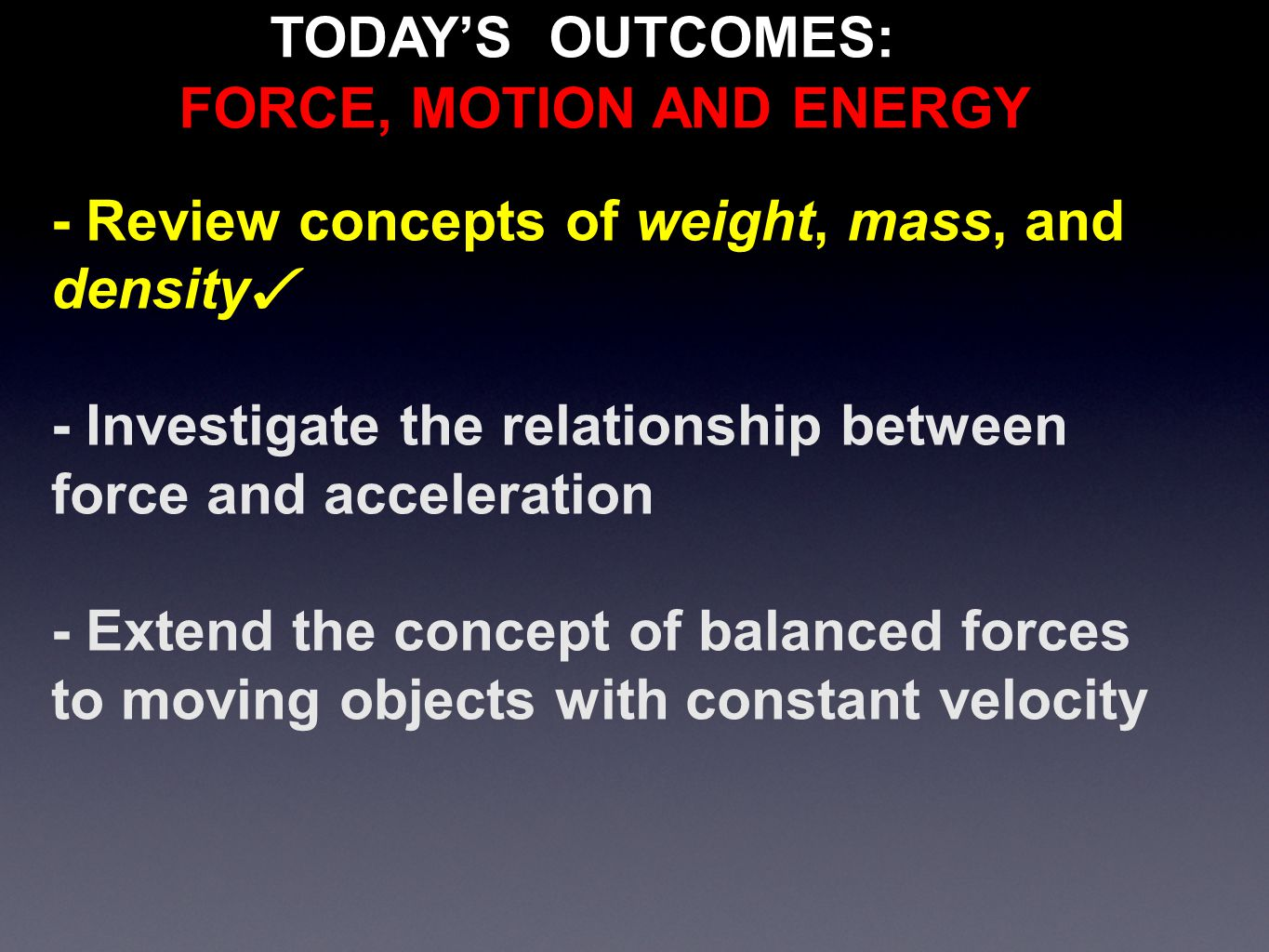 relationship between mass force and energy