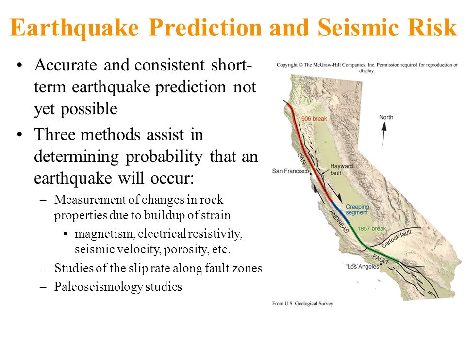 earthquake prediction Usgs earthquake hazards program, responsible for monitoring, reporting, and researching earthquakes and earthquake hazards.
