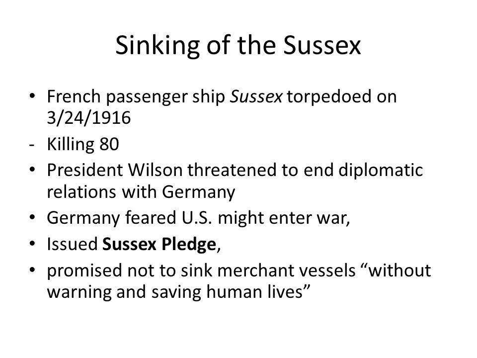 In the sussex pledge germany promised pic 29