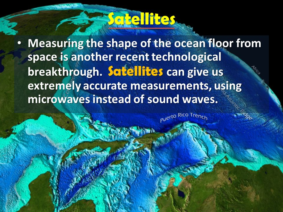 Chapter The Ocean Floor Ppt Video Online Download - What technology allows us to map ocean floor features
