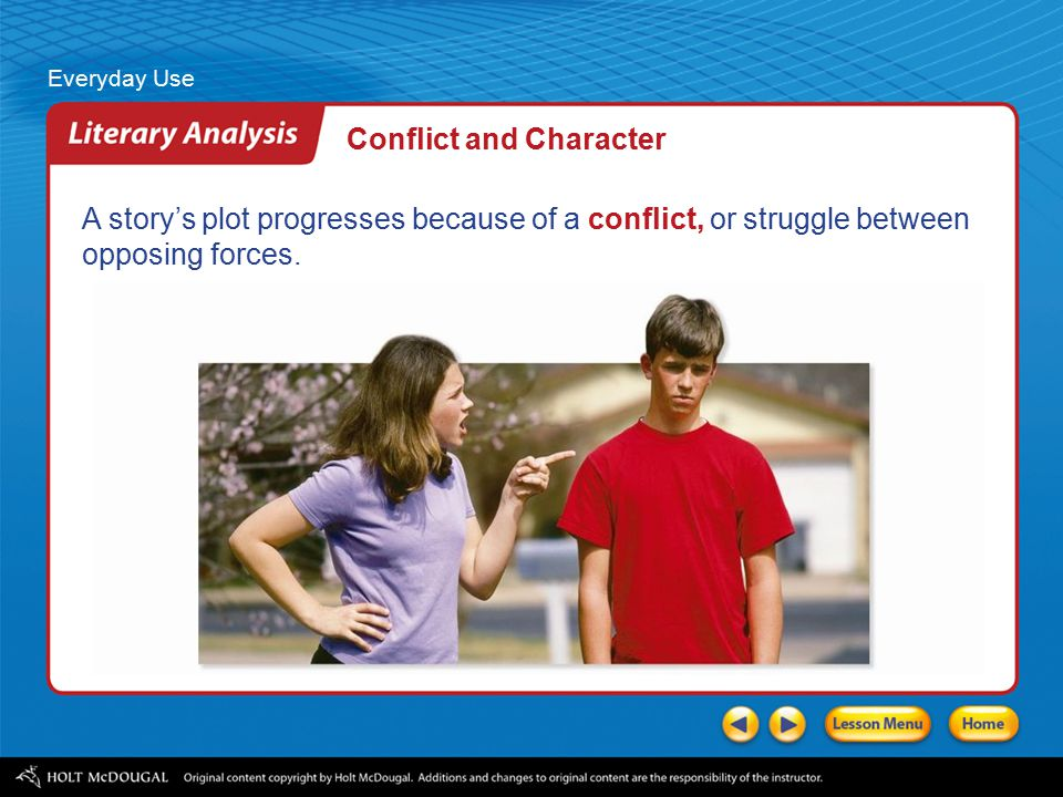 everyday use analysis Everyday use analysis by nicholas foraker, ashley lucas and audrey woodsum analysis of plot the point of view is from the narrator the mother of dee and maggie point of view, setting, mood and tone character analysis dee humble character analysis maggie hardworking character analysis mama snotty -provincial point of view.