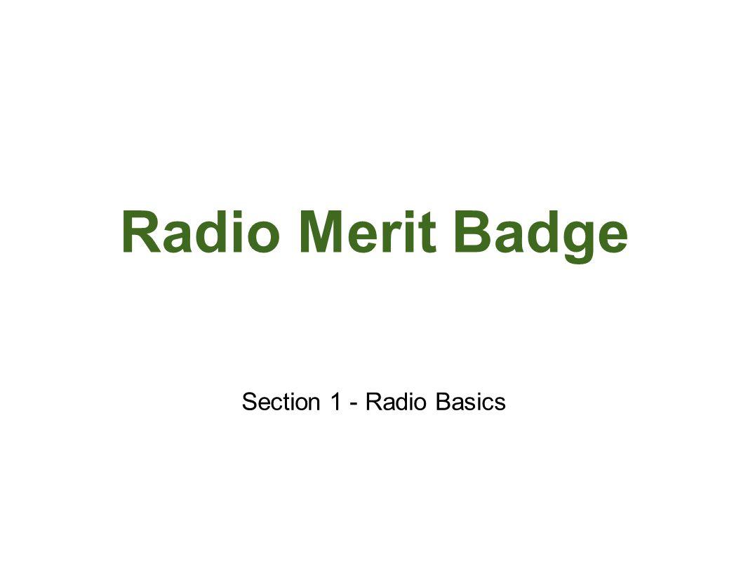 Radio Merit Badge JOTA ppt video online download – Radio Merit Badge Worksheet