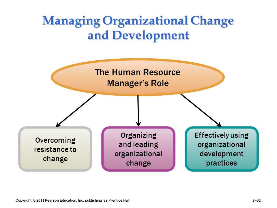 organizationl development and change