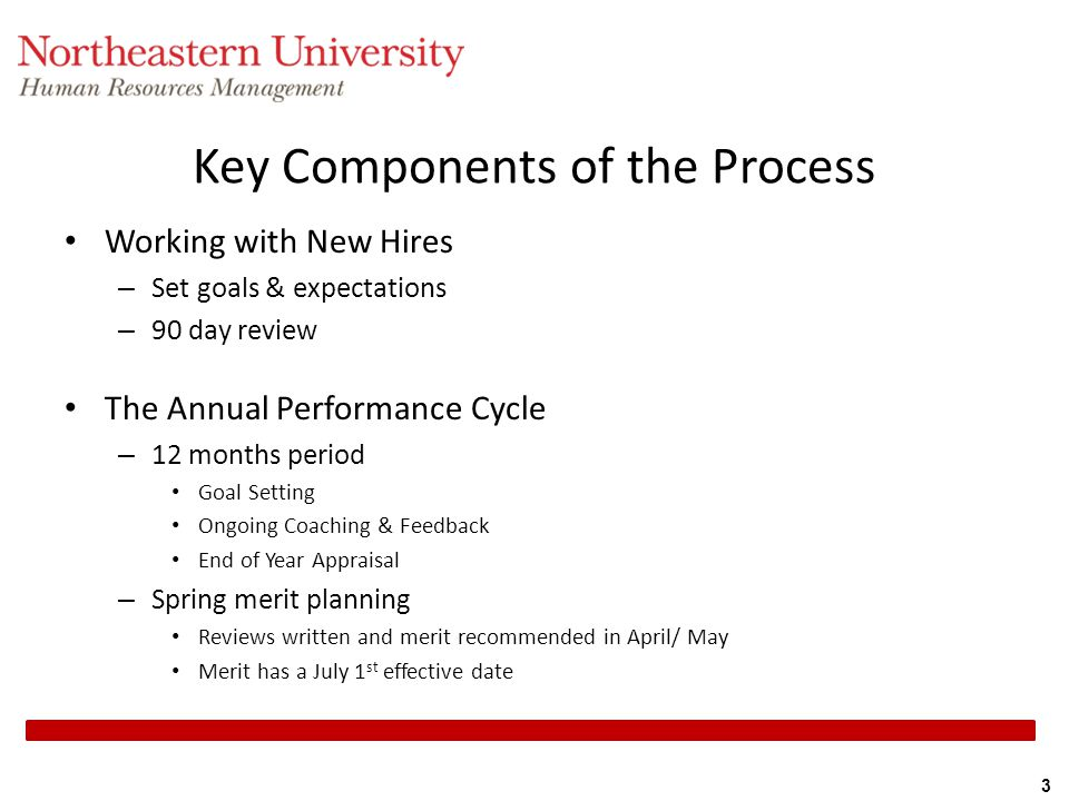 Key Components of the Process
