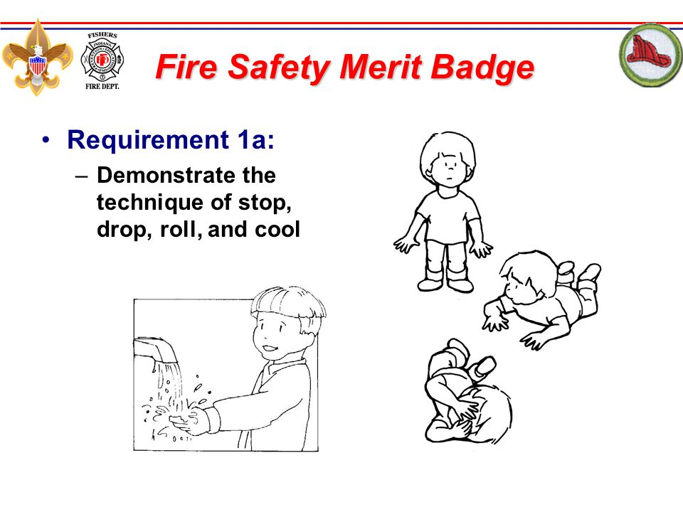 Fire Safety Merit Badge - ppt download