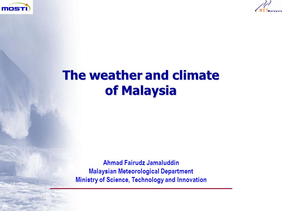 The Weather And Climate Of Malaysia Ppt Video Online