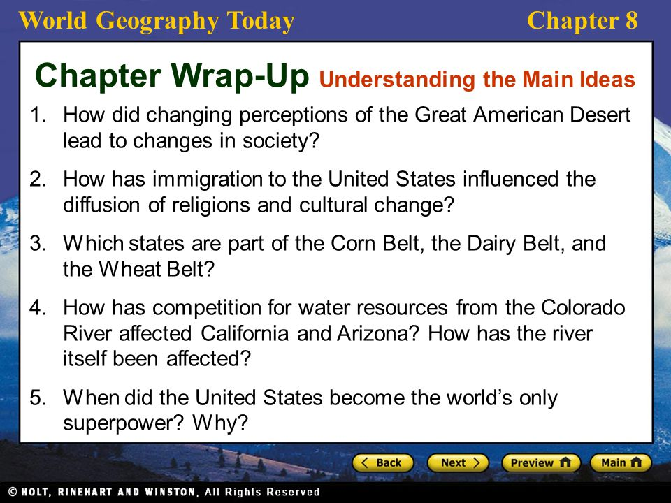 The United States Preview Section History And Culture Ppt - When did california become part of the united states