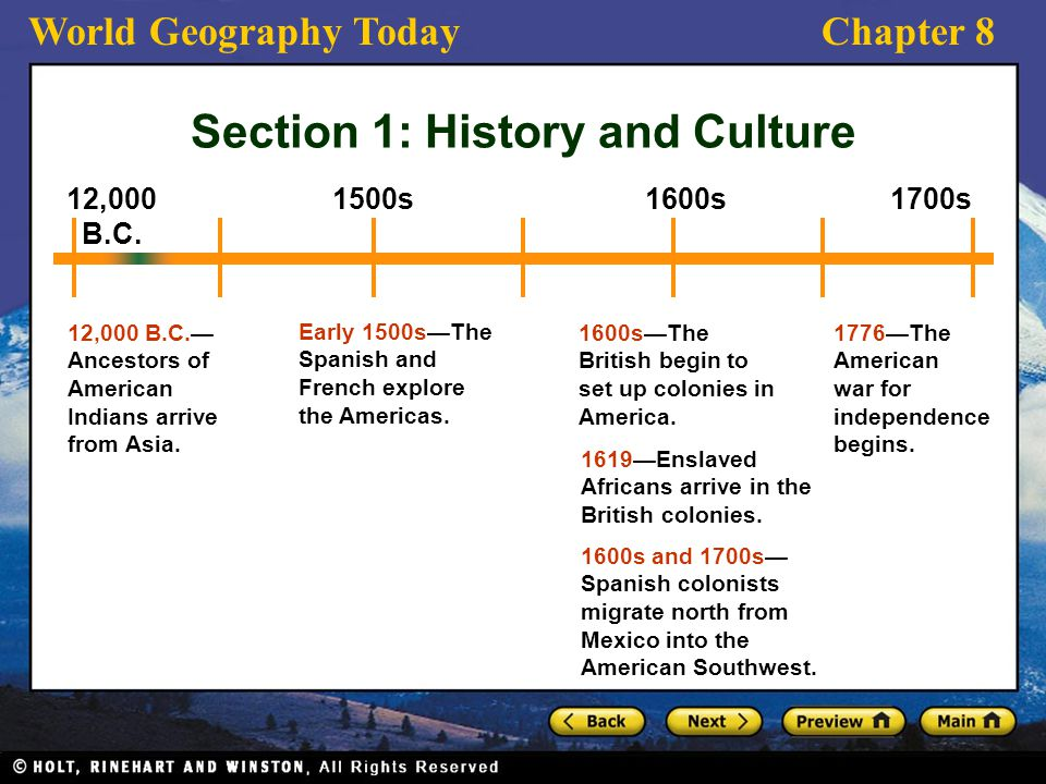 The united states preview section 1 history and culture ppt 4 section publicscrutiny Images