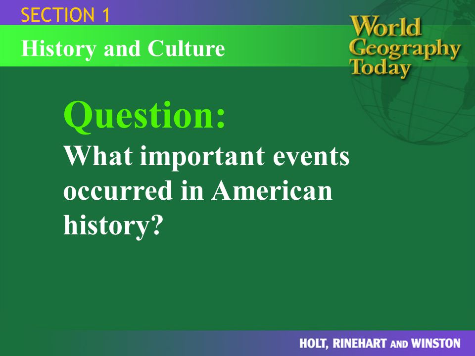american history section 1 Answer to what are the answers to the american history guided reading activity for 19-1,  what are the answers to the american history guided reading activity.