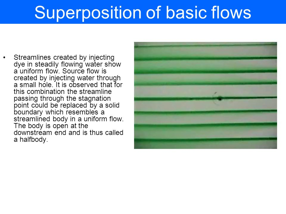 Superposition of basic flows
