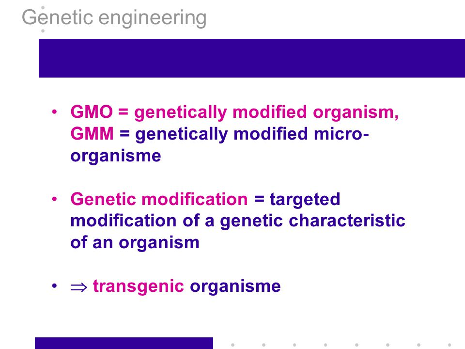 Chapter 4: recombinant DNA - ppt video online download